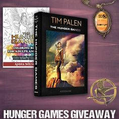 Hunger Games Books and Movie Prize Pack Giveaway - Giveaway Promote Movie Photo, Photo Book, Mockingjay Pin, Hunger Games Movies, Game Prizes, Romance Authors, Gift Card Giveaway, I Love Books, Coloring Books