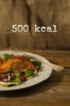 5:2 fast; salmon with squash & fennel, 500 kcal