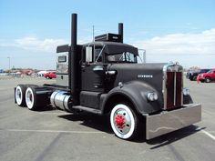 1961kenworth rat rod @ west coast custom truck show 2010 by hanks1961kw, via Flickr