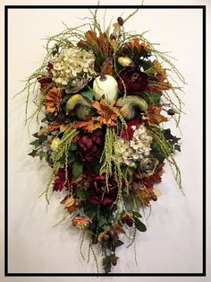 Merveilleux Beautiful Rich Fall Colors To Welcome Your Guests This Fall And  Thanksgiving Season. Fall Door HangersDoor SwagFall SwagsFall  WreathsWreaths For Front ...