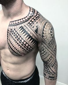 Tribal Tattoos For Men: With Meanings & Healty Tips Maori Tattoo Meanings, Tribal Tattoos With Meaning, Tribal Tattoos For Men, Black Tattoos, Body Art Tattoos, Tattoos For Guys, Tattoos For Women, Polynesian Tattoo Designs, Maori Tattoo Designs
