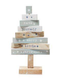 Merry Christmas Tree Figure