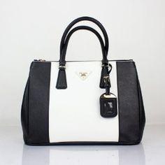 Prada Handbag Saffiano Lux Leather