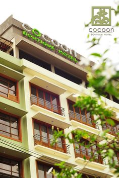 Welcome to Cocoon Boutique Hotel - the Philippine's first truly Green Hotel in Quezon City . We open our doors to our pione. Quezon City, Travel And Leisure, Multi Story Building, Boutique, Mansions, House Styles, World, Places, Blogging