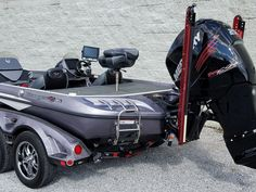 One bad Ranger! Bass Fishing Boats, Bass Boat, Ranger Boats, Boat Wraps, Power Boats, Albums, Toy, Dreams, Awesome