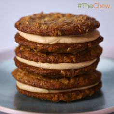Michael Symon's Creamy Peanut Butter Cookies! #TheChew #Cookies
