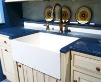 Superieur Corian Farm Sink