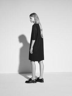 Minimal Black Dress - chic minimalist style // THISISNON