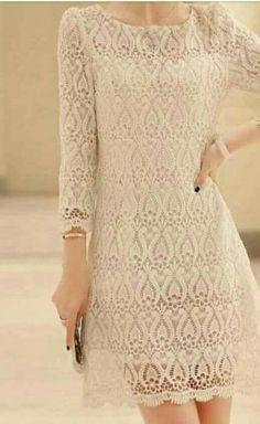 Fabulous Crochet a Little Black Crochet Dress Ideas. Georgeous Crochet a Little Black Crochet Dress Ideas. Black Crochet Dress, Crochet Cardigan, Crochet Lace, Knit Dress, Filet Crochet, Crochet Pattern, Lace Top Outfits, Bikini Crochet, Crochet Wedding Dresses