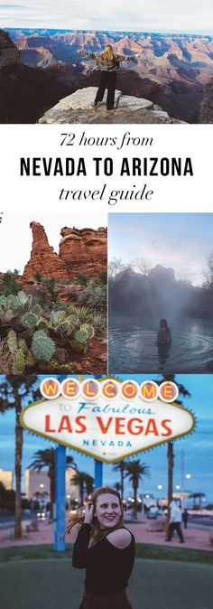 the BEST travel guide for roadtripping from Las Vegas to Arizona/The Grand Canyon. Read it here: http://whimsysoul.com/72-hours-nevada-arizona/