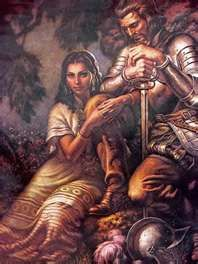 Malinche was a Nahua woman from the Mexican Gulf Coast, who played a role in the Spanish conquest of Mexico, acting as interpreter, advisor, lover, and intermediary for Hernán Cortés.