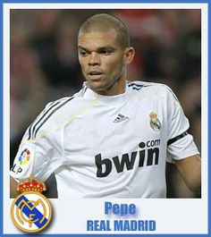 Pepe - Real Madrid Club de Fútbol - Defender - Maceió, Brazil - 26 February 1983