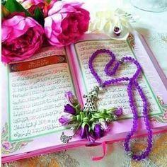 DesertRose,;,Qur'an Kareem and roses,;,