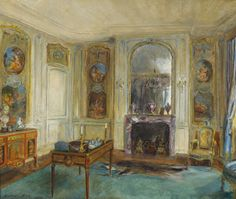 Walter Gay, The Boucher Room at the Frick Collection, 1928