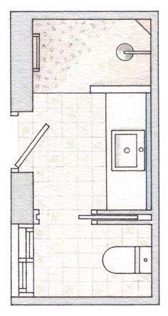 Small Bathroom 212161832434118445 - 18 ideas bath room renovations small floor plans Source by Bathroom Layout Plans, Small Bathroom Layout, Bathroom Design Layout, Bathroom Ideas, Shower Ideas, Small Bathroom Plans, Bathroom Designs, Bathroom Organization, Bathroom Makeovers