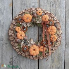Thanksgiving Crafts, Autumn Inspiration, Fall Decor, Easter, Wreaths, Rustic, Pure Products, Halloween, Garden