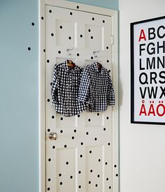 Our special projects editor, Megan Pflug, jazzed up an ordinary door, and the whole.