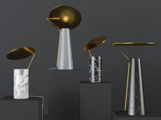 FLO lamps it is table lamp with one light. This lamps made in modern style with using contemporary materials. Inspired by the American design of years and contemporary trends. Loft Lighting, Bedroom Lighting, Lighting Design, Flos Lamp, Contemporary Light Fixtures, Dream Furniture, Desk Lamp, Table Lamps, Light Table