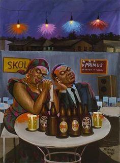 Skol Primus by Moke - Contemporary African Art Collection African American Artist, African Artists, Black Power, Black Art, Fondation Cartier, Contemporary African Art, African Sculptures, Congo Kinshasa, Political Art