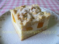 Linecký strouhaný koláč Krispie Treats, Rice Krispies, Sweet Desserts, Muffin, Food And Drink, Cupcakes, Cooking, Breakfast, Recipes