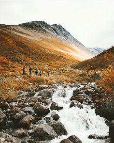 Norwegian mountains.