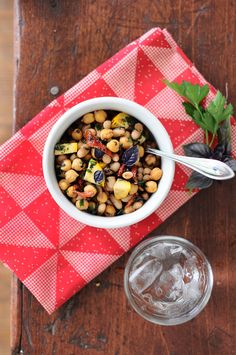 Five-Minute Super Bean, Sun-Dried Tomato & Basil Salad