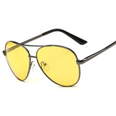 Retro alloy frame anti dazzling polarized lens night vision glasses driver unisex wholesale alibaba 8808-3