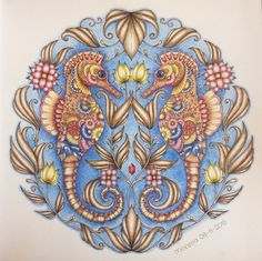 Coloured by Morena Vajak. #myCreativeEscape