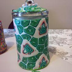 Polymer Clay, Jar, Home Decor, Decoration Home, Room Decor, Interior Design, Home Interiors, Modeling Dough, Glass