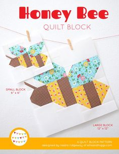 New Quilt Pattern / Neue Patchwork Anleitung: Hippity Hoppity - Easter Bunny Quilt - ellis & higgs Quilt Block Patterns, Pattern Blocks, Quilt Blocks, The Block, Foundation Paper Piecing, Quilting Projects, Quilting Designs, Quilting Ideas, Sewing Projects