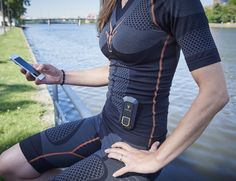Reach your fitness goal much faster with ANTELOPE Sportswear, the muscle activating smartsuit. Using state of the art electro muscle stimulation, ANTELOPE Muscle Fitness, You Fitness, Fitness Goals, Fitness Style, Workout Fitness, Smart Textiles, Running Magazine, Muscular System, Foto Blog