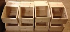 DIY rabbit nest boxes                                                                                                                                                                                 More