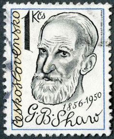 George Bernard Shaw (1856-1950), playwright, circa 1981