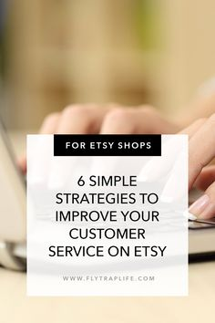 6 Simple Strategies to Improve Your Customer Service on Etsy and Beyond - FlytrapLife Confusion, Customer Service, Improve Yourself, Things I Want, Mindfulness, Advice, Etsy Shop, Learning, Business