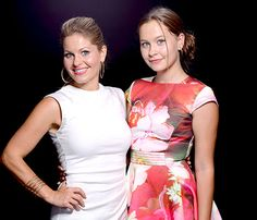 Candace Cameron Bure is one proud mama! The Full House alum hit the Teen Choice Awards and brought her daughter Natasha as her date. Read what she had to say about her oldest child!