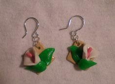 Polymer Clay White Calla Lily Earrings with Sterling by proudpixie, $17.00
