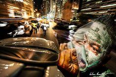 chicago rue urban voiture ville vitesse portais lumière vitesse flou