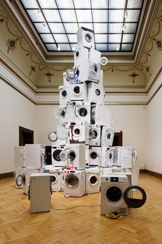 Krištof Kintera, We All Want to Be Cleaned, This autumn, Galerie Rudolfinum opened the exhibition since its founding in Cleaning, Sculpture, University, Inspiration, Art, Biblical Inspiration, Art Background, Kunst, Sculpting