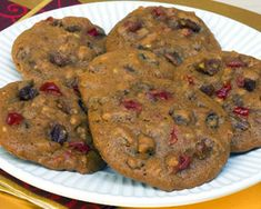 Cherry Date cookies. Dates supposedly will help make my baby at least exit on time! Date Cookies, Popcorn Mix, Raisin Cookies, Maid, Dates, Muffin, Cherry, Baby Boy, Birthday Cake
