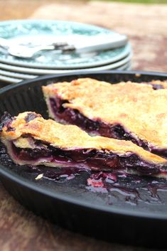 Blåbærpai  #blåbær #blåbærpai #blueberries #blueberrypie #dessert #pai #oppskrift #recipe #easy Lasagna, French Toast, Goodies, Bread, Chocolate, Baking, Breakfast, Ethnic Recipes, Sweet