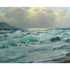 <li>Title: The Ocean Wave</li><li>Product type: Gallery-wrapped canvas art</li><li>Style: Contemporary</li>