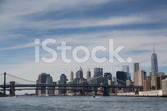 #newyork #skyline The New York City Downtown royalty-free stock photo