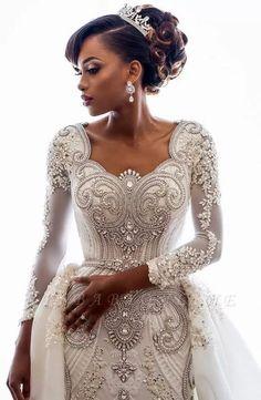 Crystal Wedding Dresses, Lace Mermaid Wedding Dress, Mermaid Dresses, Bridal Lace, Bridal Dresses, Bridesmaid Dresses, Prom Dresses, Wedding Gowns, Lace Wedding