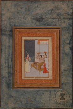 Akbar with His Wives King Of India, Victoria Memorial, Indian Art, Emperor, Persian, Lord, Calligraphy, Costumes, History