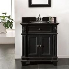 Shop for OVE Decors Eliza 31-inch Single Sink Bathrom Vanity with Granite Top. Get free delivery at Overstock.com - Your Online Furniture Outlet Store! Get 5% in rewards with Club O!