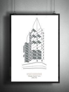 12 ilustraciones minimalistas de arquitectura contemporánea
