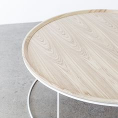 Freda Coffee Table in Ash by Design Kiosk Commercial Furniture, Commercial Interiors, Entryway Furniture, Furniture Design, Corporate Interiors, Round Side Table, Kiosk, Minimal Design, Modern Classic
