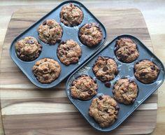 Almond Butter Chocolate Chip Mini Muffins : PrimalPaleo.com