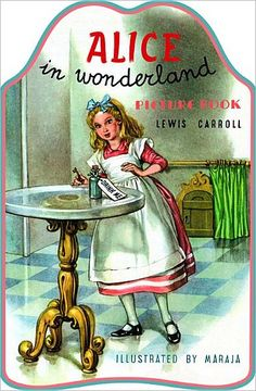 CLICK PIC TO SHOP! Alice in Wonderland Vintage Print children's book is filled with beautiful illustrations of this classic story. Easy text makes a wonderful introduction to Carroll's world marvelous madness.  $9.95 www.nobleniches.com #aliceinwonderland #aliceinwonderlandbook #vintagechildrensbooks #vintagestorybook #storybook #whiterabbit #madhatter #childrensbooks