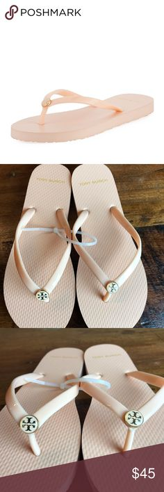 07af1494fd867b Tory Burch thin flip flop sandals Sz 7 Whole sizes only  for 1 2